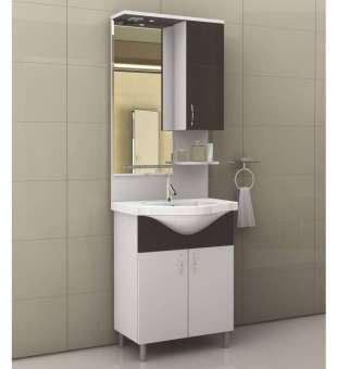 Ekonomik Banyo Dolabı, 65cm Tek Banyo Dolabı