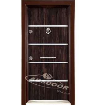 Çelik Kapı, Abs Door 1402 Model Laminoks Serisi Çelik Kapı