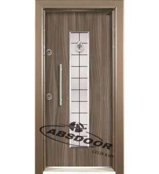 Çelik Kapı, Abs Door 1431 Kabartma Laminoks Serisi Çelik Kapı