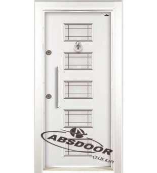 Çelik Kapı, Abs Door 1436 Kabartma Laminoks Serisi Çelik Kapı