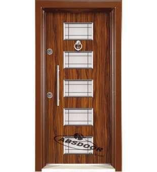 Çelik Kapı, Abs Door 1439 Kabartma Laminoks Serisi Çelik Kapı