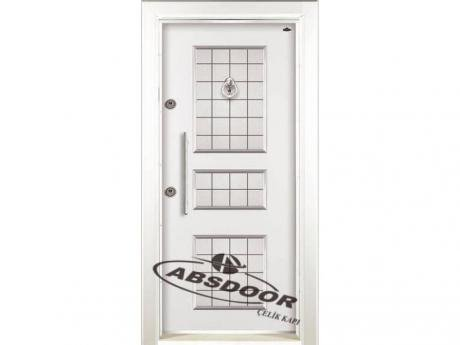 Abs Door 1440 Kabartma Laminoks Serisi Çelik Kapı