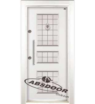 Çelik Kapı, Abs Door 1440 Kabartma Laminoks Serisi Çelik Kapı