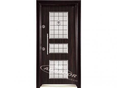 Abs Door 1442 Kabartma Laminoks Serisi Çelik Kapı
