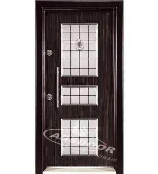 Çelik Kapı, Abs Door 1442 Kabartma Laminoks Serisi Çelik Kapı