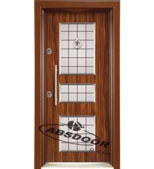 Çelik Kapı, Abs Door 1443 Kabartma Laminoks Serisi Çelik Kapı