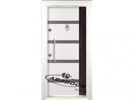 Abs Door 1454 Çift Renk Laminoks Serisi Çelik Kapı