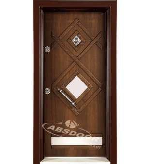 Çelik Kapı, Abs Door 1603 Kabartma Panel Serisi Çelik Kapı