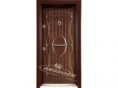 Abs Door 1605 Kabartma Panel Serisi Çelik Kapı
