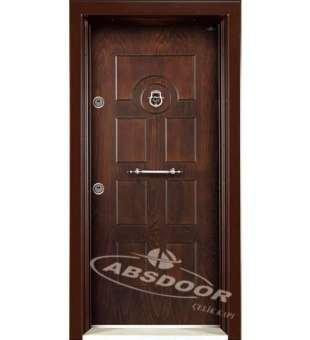 Çelik Kapı, Abs Door 1608 Kabartma Panel Daire Çelik Kapı