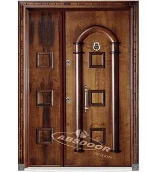 Villa Giriş Kapısı, Abs Door 1909 Villa Çelik Kapısı