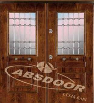 Villa Giriş Kapısı, Abs Door 1910 Villa Çelik Kapısı