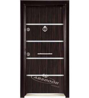 Çelik Kapı, Abs Door Model 1405 Laminoks Çelik Kapı
