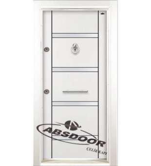 Çelik Kapı, Abs Door Model 1406 Laminoks Çelik Kapı
