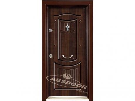 Abs Door Model 1701 Çelik Kapı, Rustik Panel Serisi