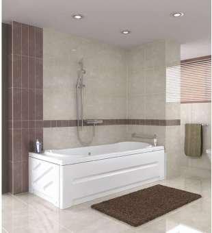 Banyo Küveti, Düz 160cm x 70cm Banyo Duş Küveti