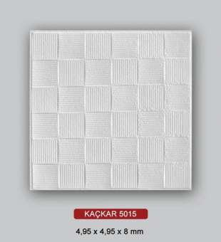 Desenli Tavan Kaplama, Kaçkar 50x50 Strafor Tavan Kaplama