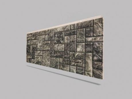 Kare Taş Görünümlü Duvar Kaplama Köpüğü