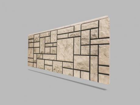 Kare Taş Görünümlü Strafor Duvar Kaplama