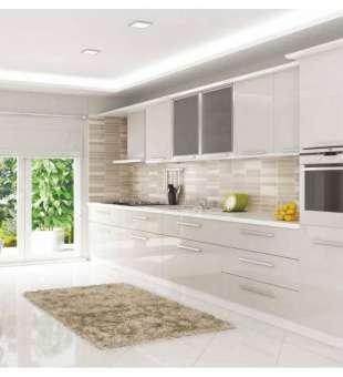 Akrilik Mutfak Dolabı, Kaşmir Akrilik Kapaklı Mutfak Dolabı