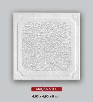 Desenli Tavan Kaplama, Maçka 50x50 Strafor Tavan Plakası