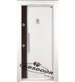 Çelik Kapı, Model 1448 Çift Renk Laminoks Serisi Çelik Kapı