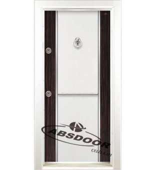 Çelik Kapı, Model 1449 Çift Renk Laminoks Serisi Çelik Kapı