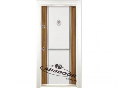 Model 1451 Çift Renk Laminoks Serisi Çelik Kapı