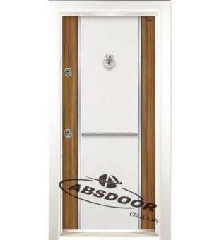 Çelik Kapı, Model 1451 Çift Renk Laminoks Serisi Çelik Kapı